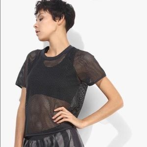 Adidas Mesh Dark Grey T-shirt
